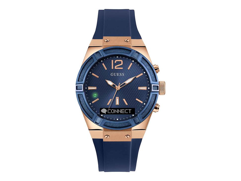Guess Connect C0002m1 Reloj Unisex Color Azul